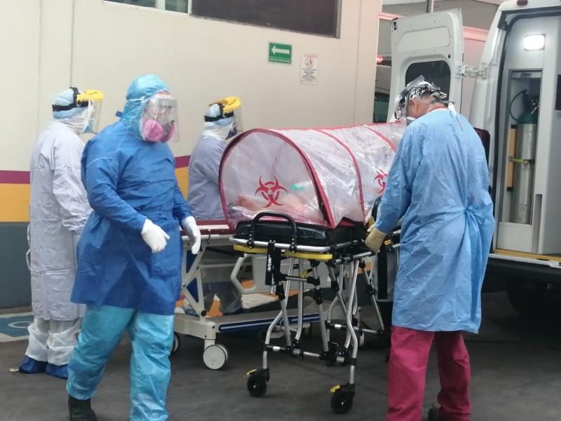 Reporta Hospital General La Piedad 100% de ocupación Covid-19