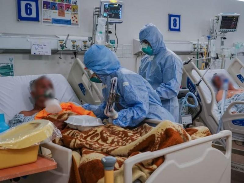 Reporta Jalisco tres máximos: contagios, muertes y hospitalizados por covid-19