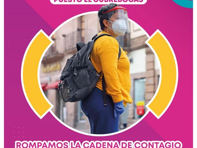 Reporta Michoacán 130 nuevos casos de Covid19