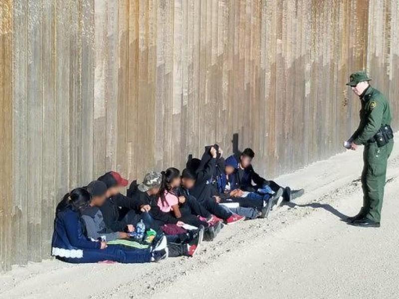 Reporta patrulla fronteriza detención de más menores migrantes no acompañados