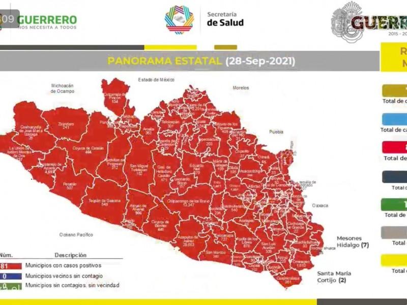 Reportan 116 nuevos contagios de COVID19 en Guerrero