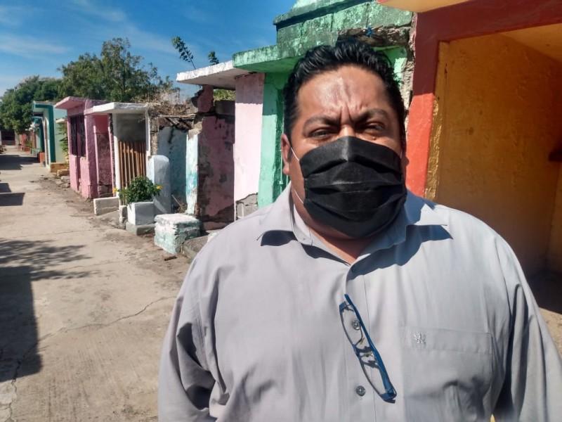 Reportan 33 inhumaciones en menos de 15 días en Juchitán