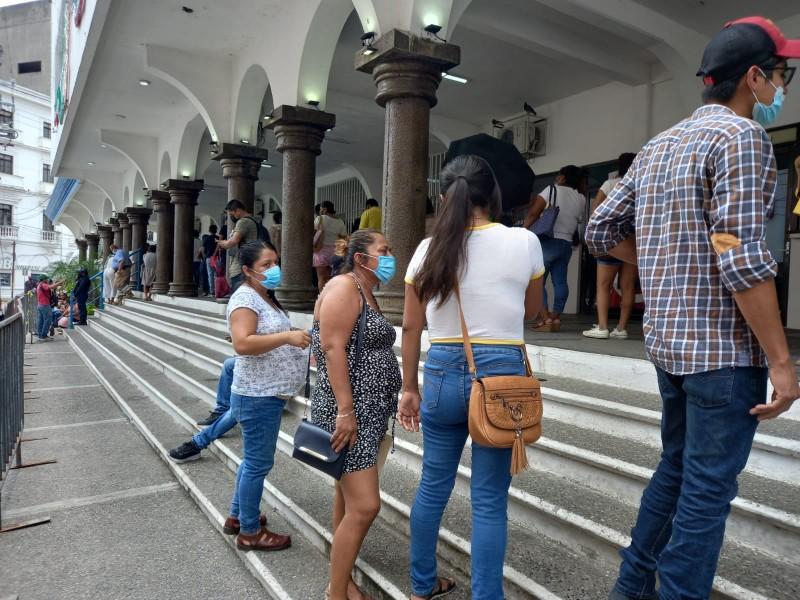 Reportan 558 positivos Covid en Veracruz durante el sábado