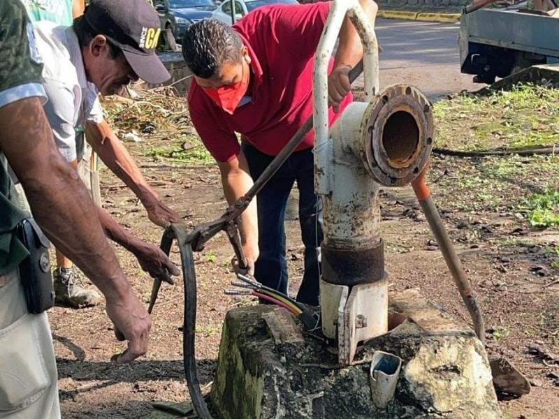 Reportan acto de vandalismo en Pozo Alameda