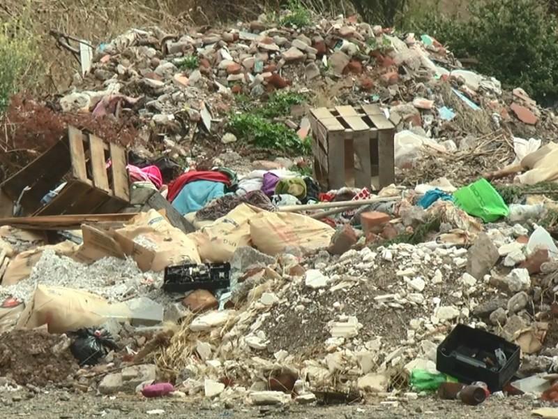Reportan acumulamiento de basura en colonia de Guadalupe