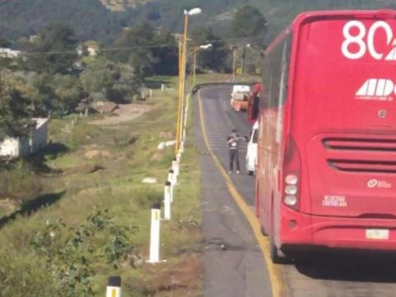 Reportan asaltos en la autopista Veracruz-Puebla