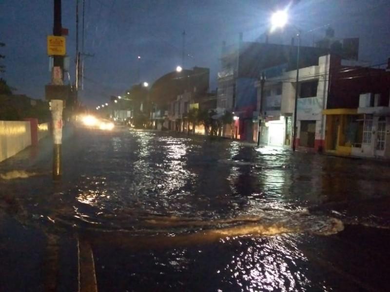 Reportan autoridades daños en Morelia tras lluvia