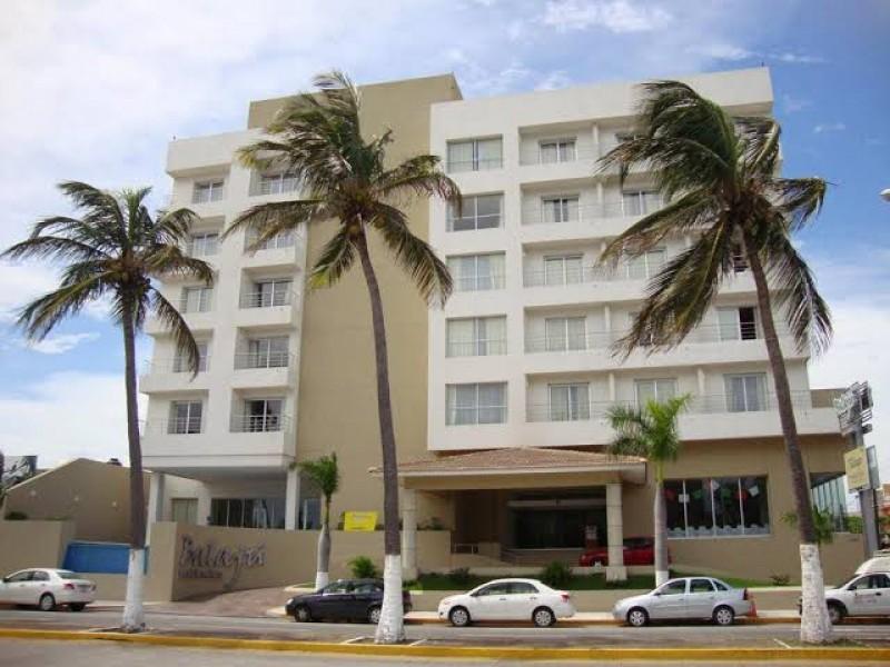Reportan cierre de dos hoteles en el municipio de Veracruz.
