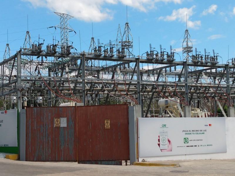 Reportan corte parcial de energía eléctrica en colonias de Tuxtla.
