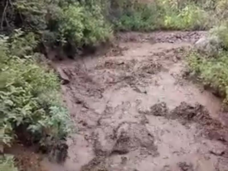Reportan escurrimiento de Río Chiquito en Nogales
