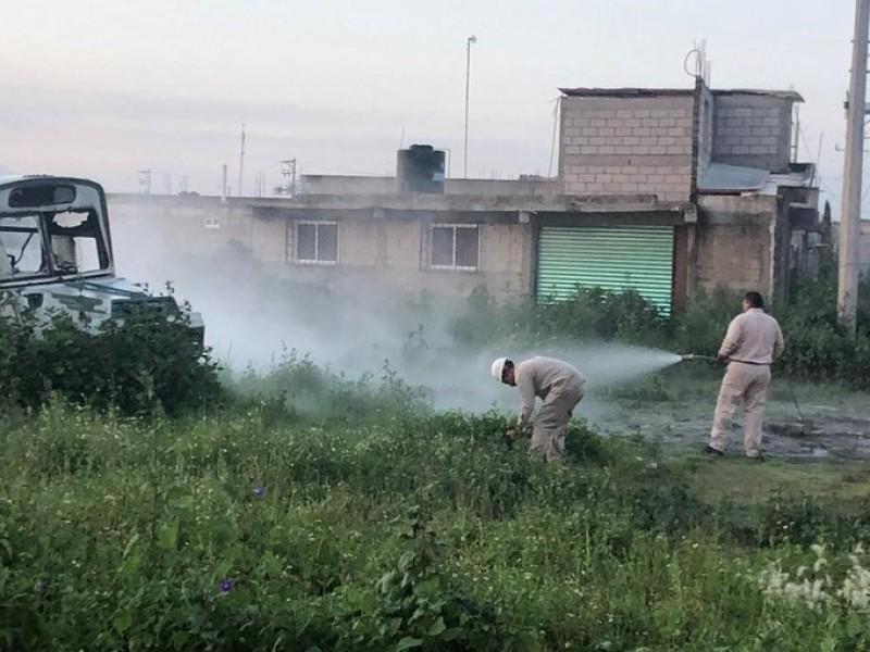 Reportan fuga de gas en Tezoyuca