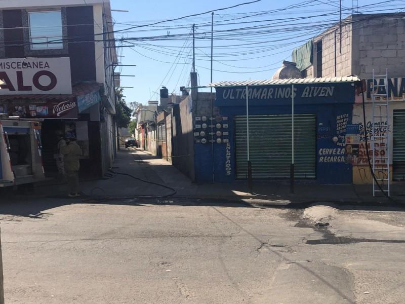 Reportan fuga de gas y hallan huachitunel en Xochimehuacan