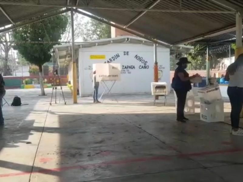 Reportan incidencias menores en casillas electorales de Jalisco