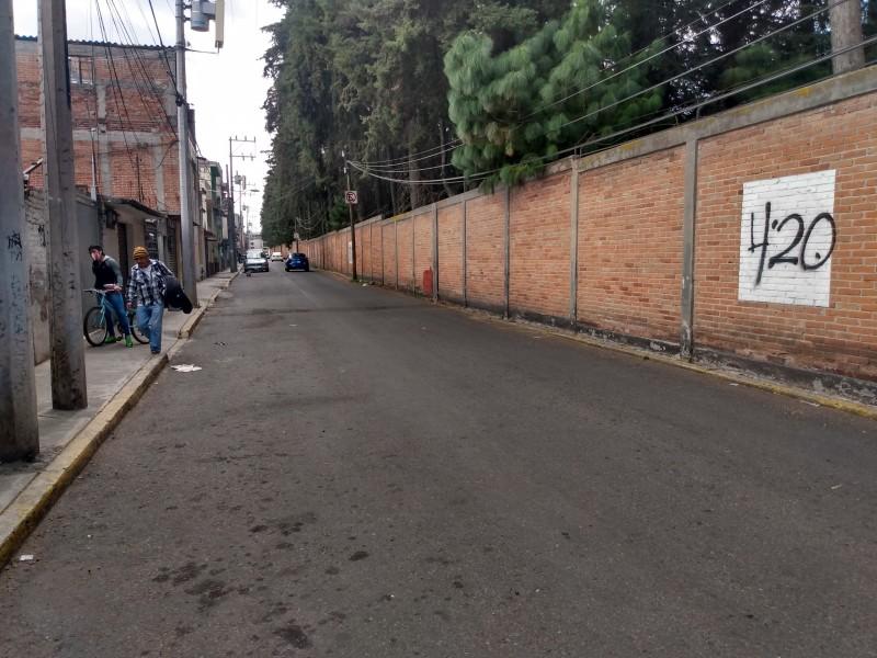 Reportan inseguridad en calles aledañas al Parque Metropolitano