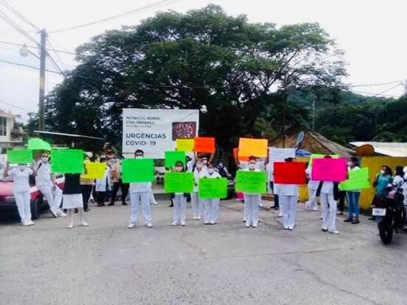 Reportan médicos contagiados en hospital de Chicontepec
