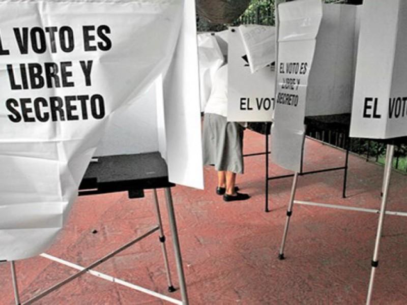 Reportan retraso en las casillas instaladas en Morelos.