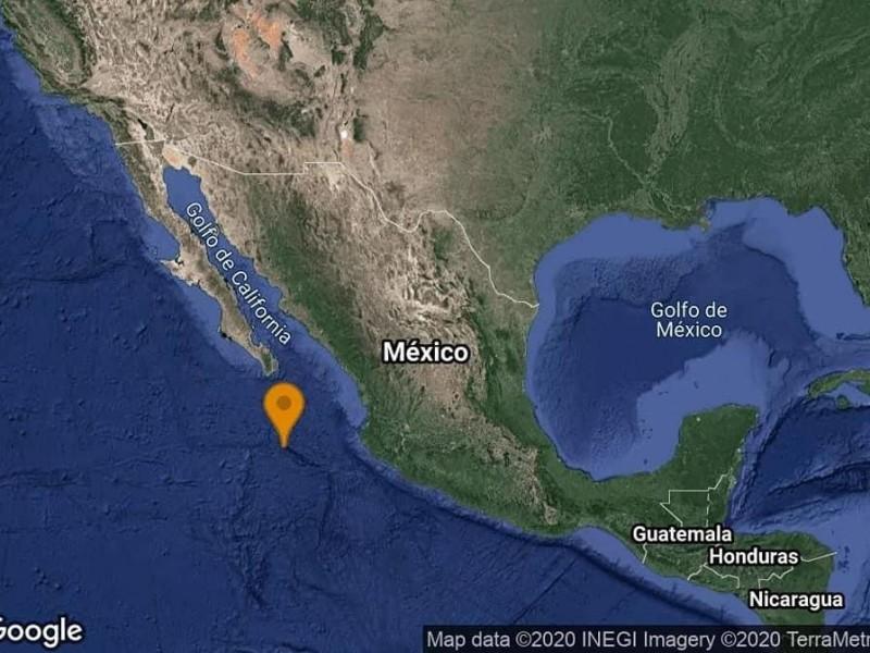 Reportan sismo cerca de Los Cabos