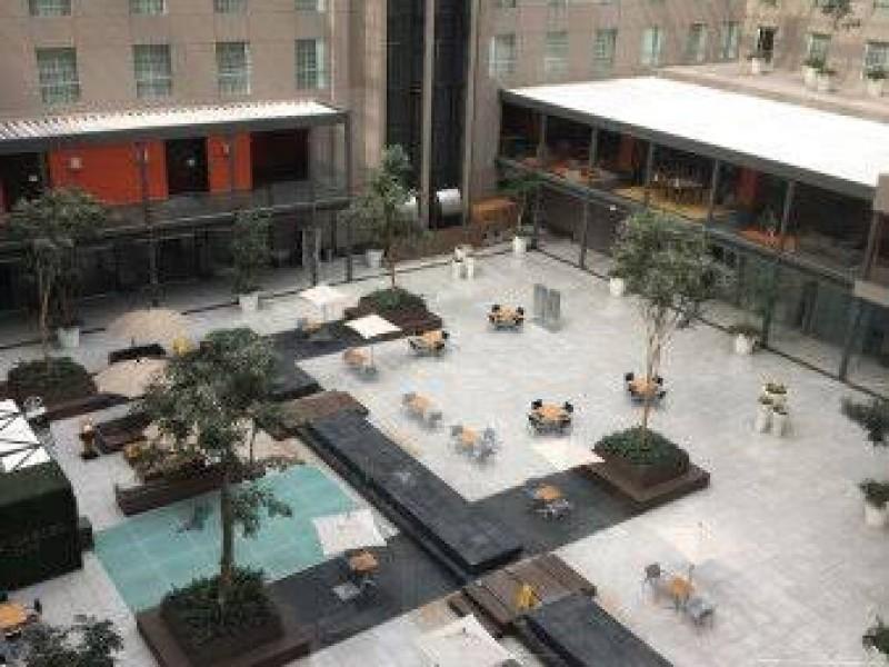 REPORTEN DECESO POR COVID-19 EN HOTEL DE LA CDMX