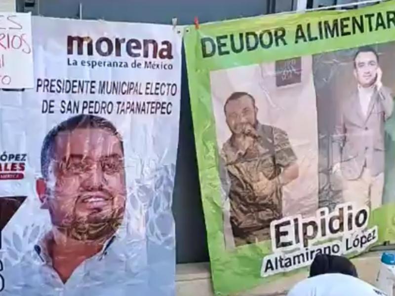 Representante del PVEM en lista de deudores de pensiones alimentarias