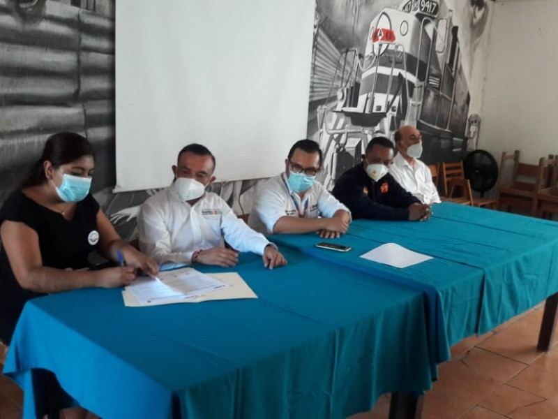Representantes de candidatos a Diputados Federales firman pacto de civilidad