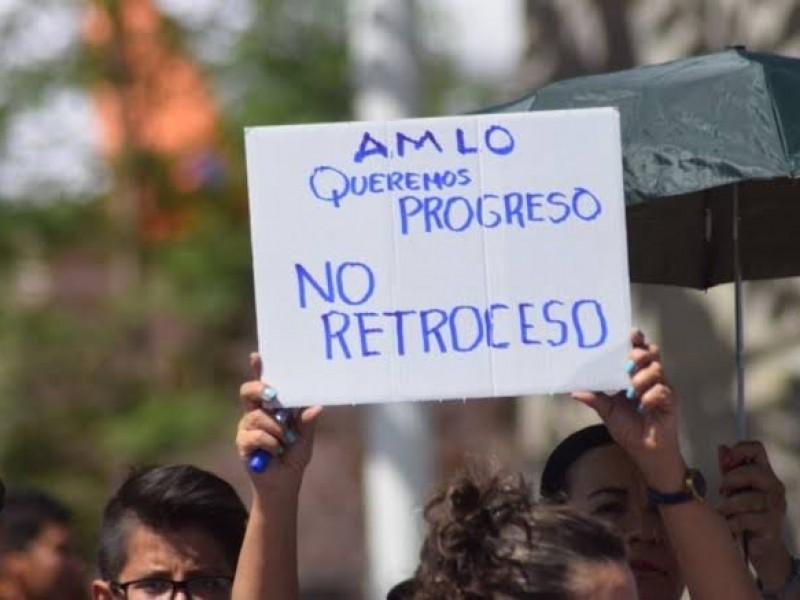 Reprueba diputado federal de Morena, manifestaciones ANTI AMLO