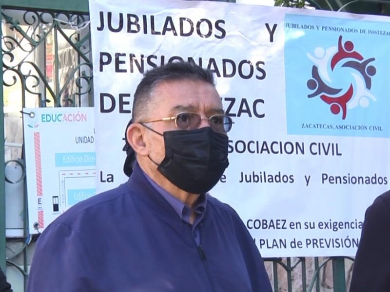 Repudio total a propuesta de Gobernador; Jubilados del Issstezac
