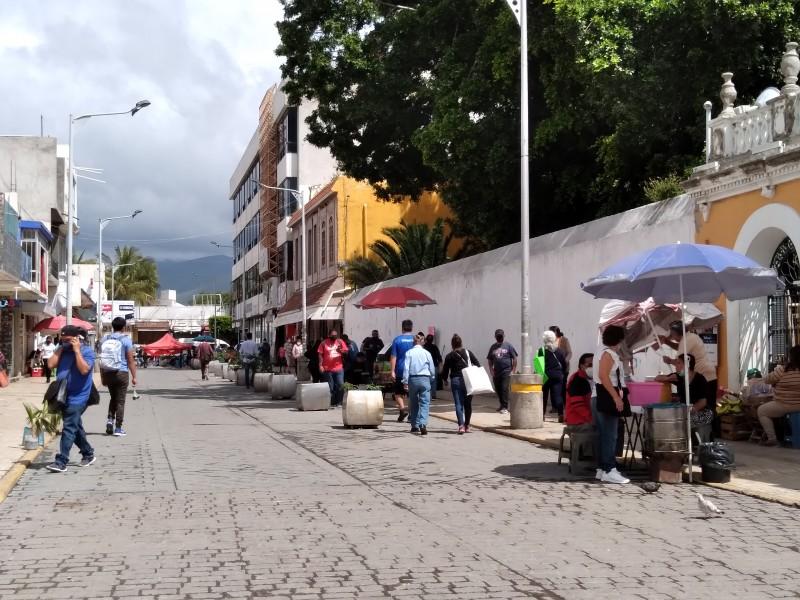 Repunta comercio ambulante previo a cierre de administración municipal