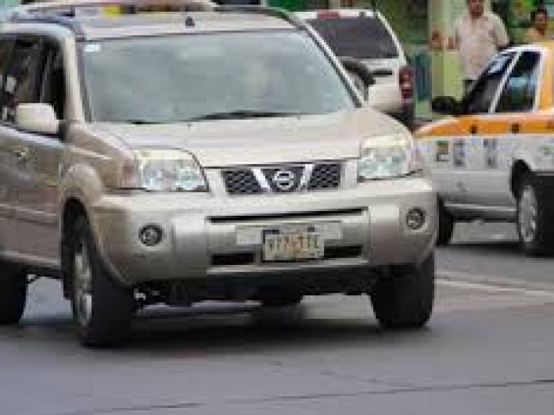 Repuntan robo de vehículos en Chiapas