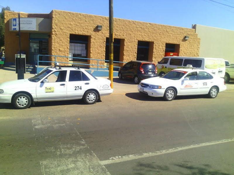 Repuntan servicios para taxistas de Guaymas