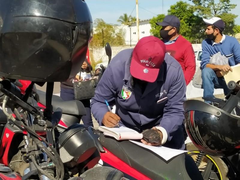 REPUVE determinó número de trámites para motociclistas al día