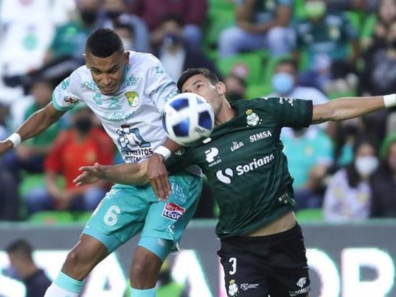 Rescata Club León empate ante Santos