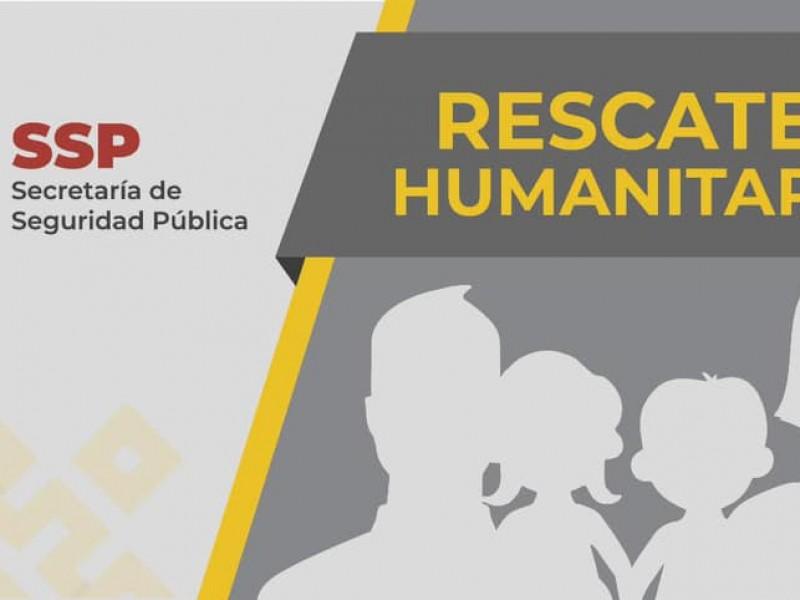 Rescata SSP a 149 migrantes en 3 municipios de Veracruz