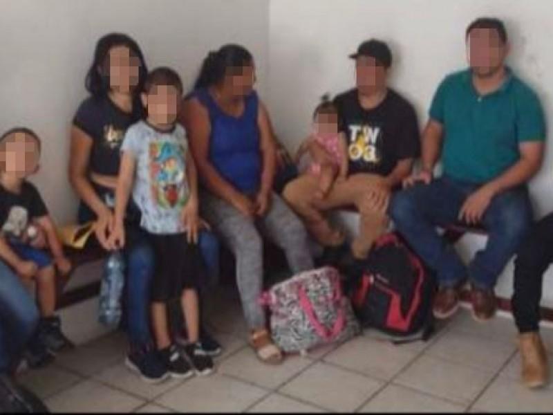 Rescata SSP a 214 migrantes en 7 municipios de Veracruz