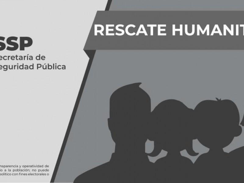 Rescatan a 18 migrantes en las Choapas