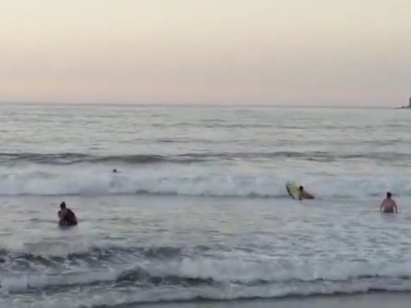 Rescatan a dos menores a punto de ahogarse en Guayabitos
