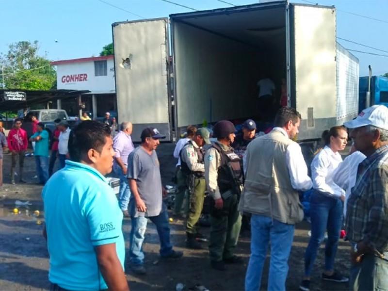 Rescatan a 200 migrantes centroamericanos en Ozuluama