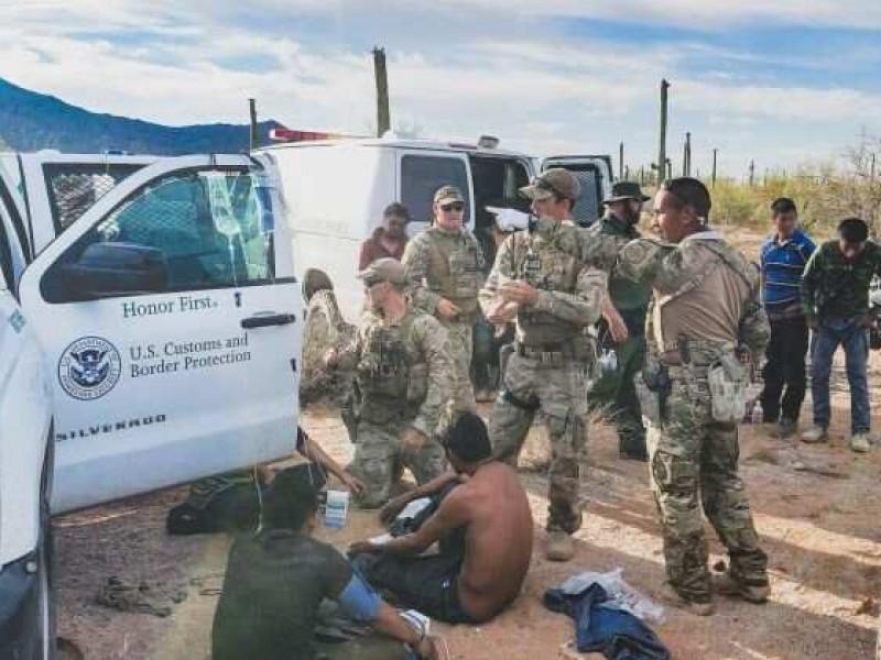 Rescatan a 26 Migrantes al sur de Arizona