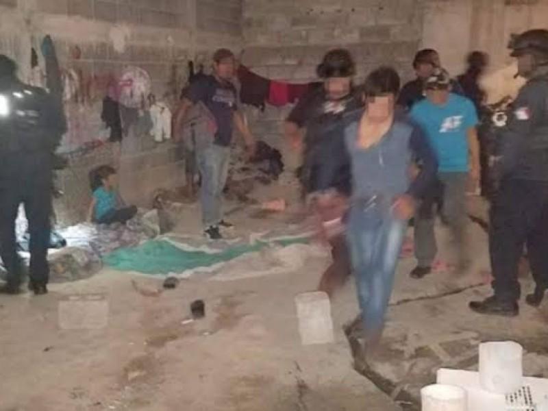 Rescatan a 26 migrantes en casa de Tamaulipas