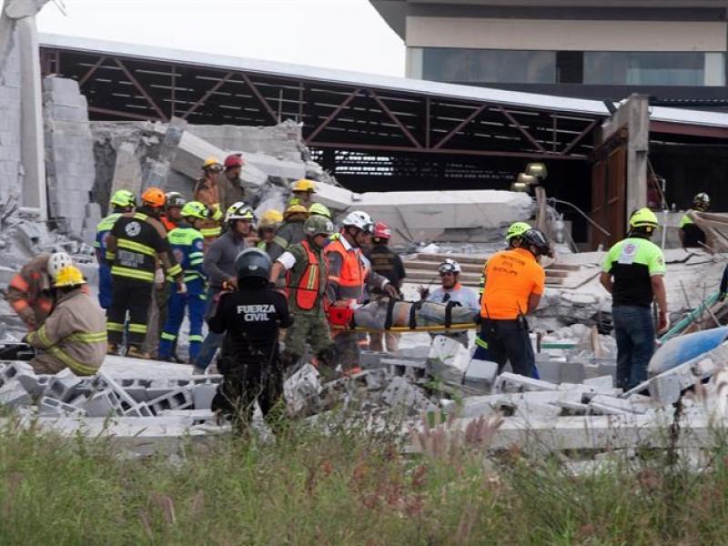 Rescatan a última persona de derrumbe en Monterrey