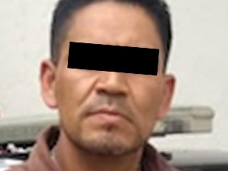Cae violador en Texcoco; rescatan a la víctima