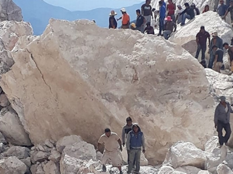 Rescatan cuerpo sin vida de minero en Hidalgo