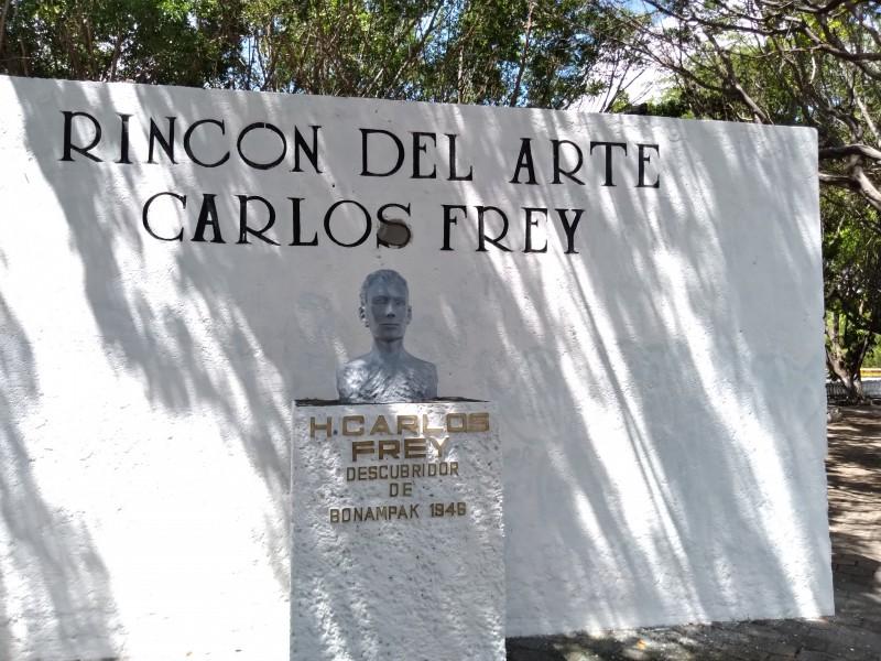 Rescatan Rincón del Arte en la capital Chiapaneca