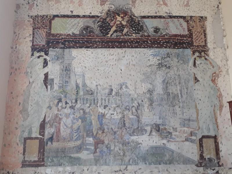 Rescatará INAH murales venecianos en casona antigua de Tepic