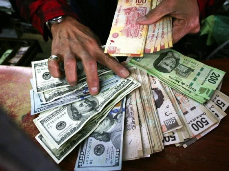 Reservas internacionales del país disminuyen