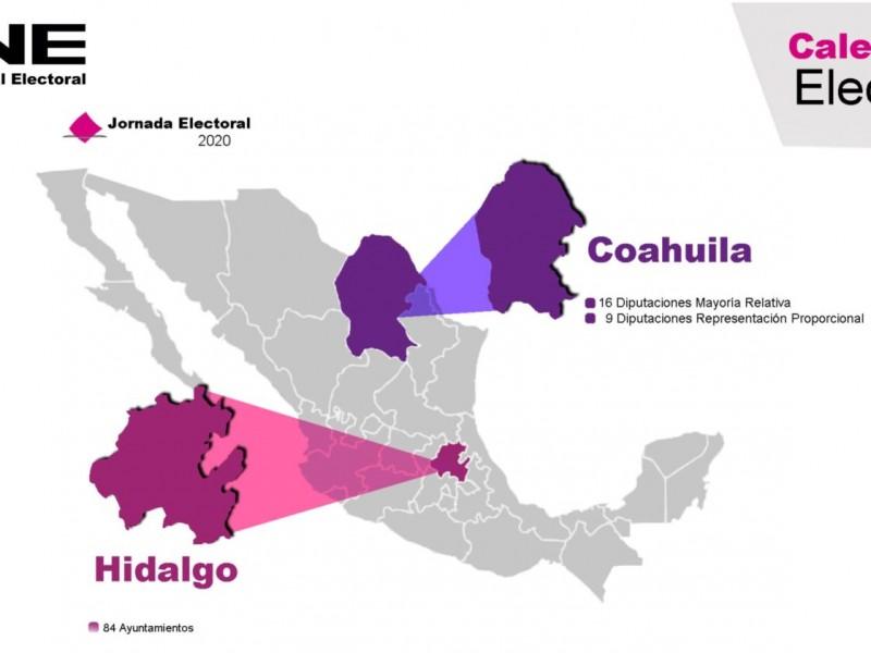 Resguarda gobierno federal instalaciones y vehículos en Hidalgo y Coahuila