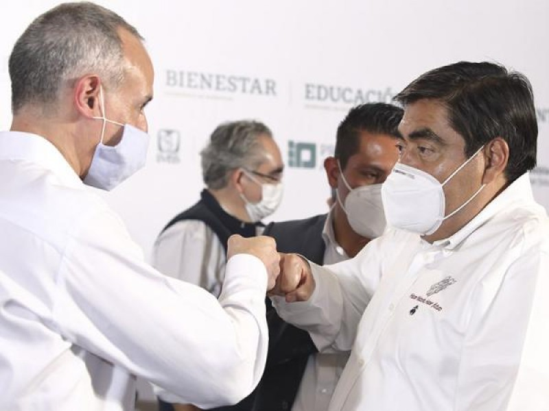 Respalda Gobernador de Puebla apoyo a López Gatell