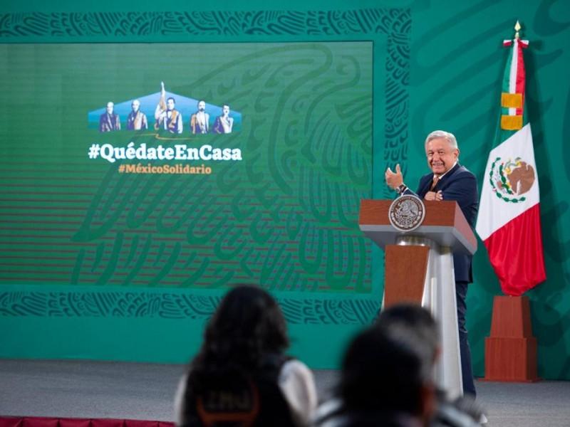 Respaldan a Arturo Zaldívar desde Palacio Nacional