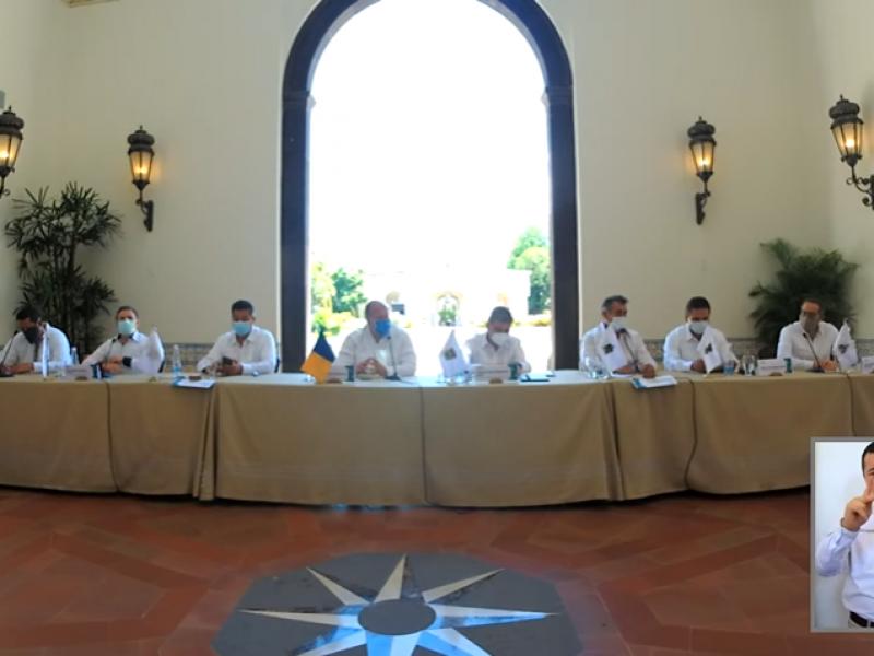 Respaldan gobernadores al Ejecutivo de Jalisco tras manifestaciones por Giovanni