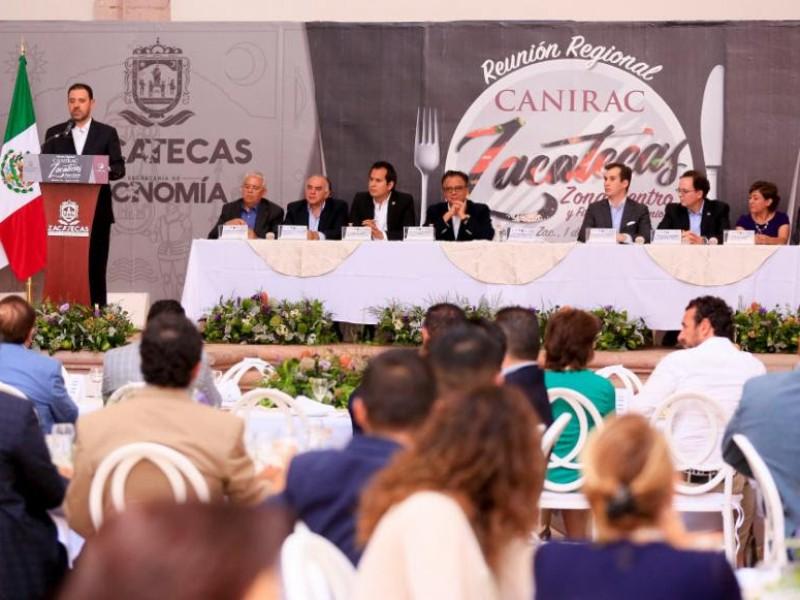 Respaldo a quien invierta en Zacatecas: Tello