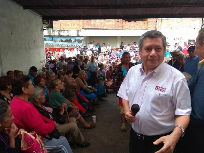 Respetar voluntad del pueblo pide Marcial Rodríguez
